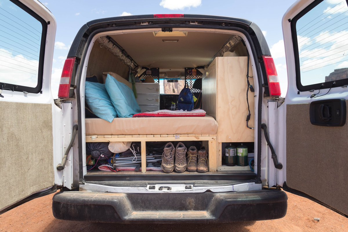 We&#39;re excited to share our conversion guide in a few weeks!  #vanlife #vanconversion #builtnotbought <br>http://pic.twitter.com/xrSnTft73i