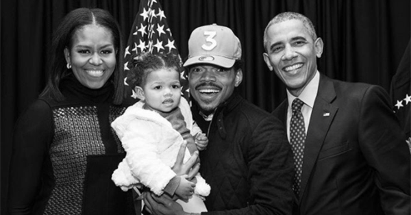 Filed under things you might not know about Chance the Rapper: Him and former President Barack Obama go way back: https://t.co/EXwCTLBWUL