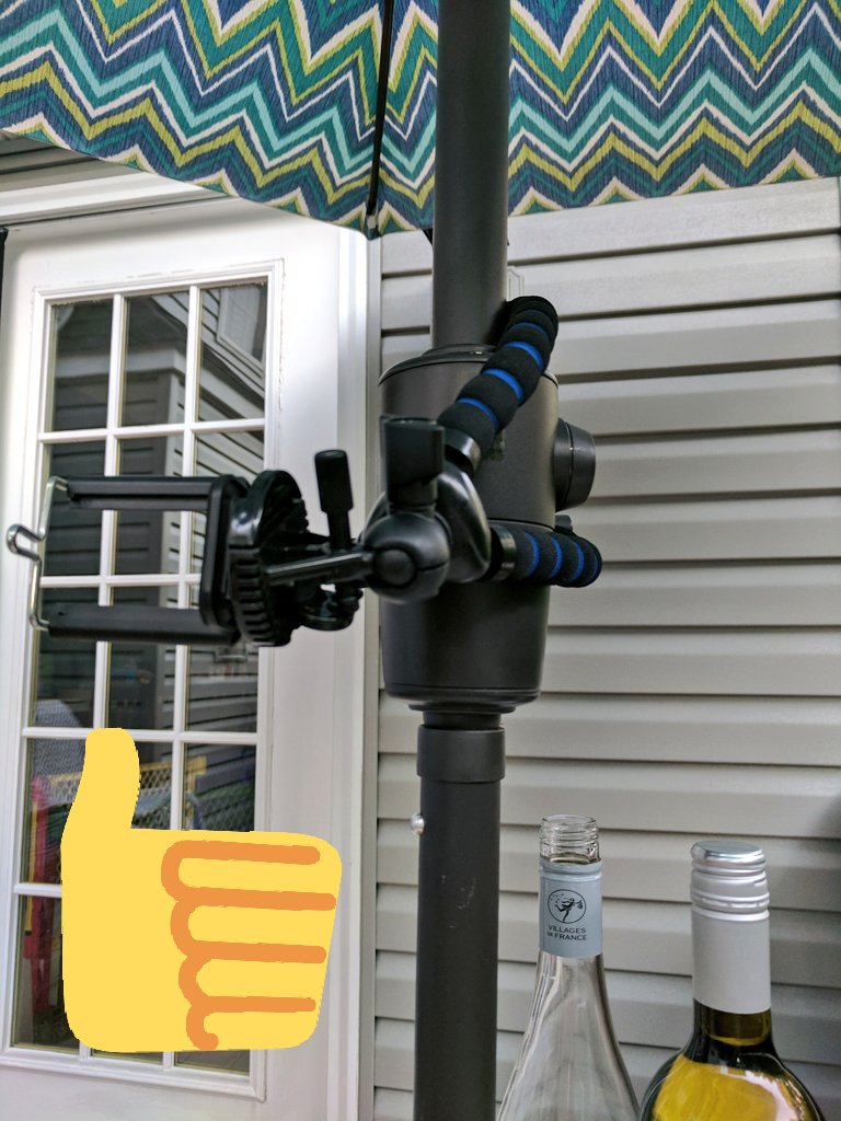 I really like to push the limits of my @ARKON_MOUNTS lol! They keep holding up every time! Even an  can help you #livestream!  #GoLIVE  <br>http://pic.twitter.com/ZtX0GVwRYP