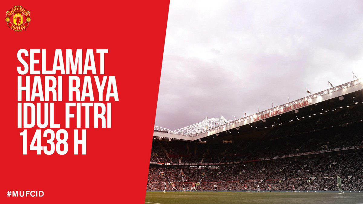 Selamat Hari Raya Idul Fitri untuk semua fans United di Indonesia. Dar...