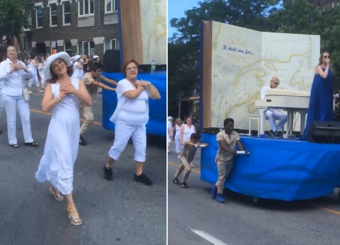 Float in Montreal Fête nationale parade sparks outrage https://t.co/9y56Ivd76l