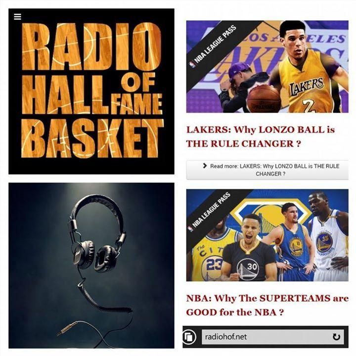 Listen the NBA, LISTEN THE RADIO:  http://www. radiohof.net  &nbsp;   #radio #basketball #debat #auditeurs #fans #Actu #infos…  http:// bit.ly/2sMKc7C  &nbsp;  <br>http://pic.twitter.com/oBOuNmJCMB