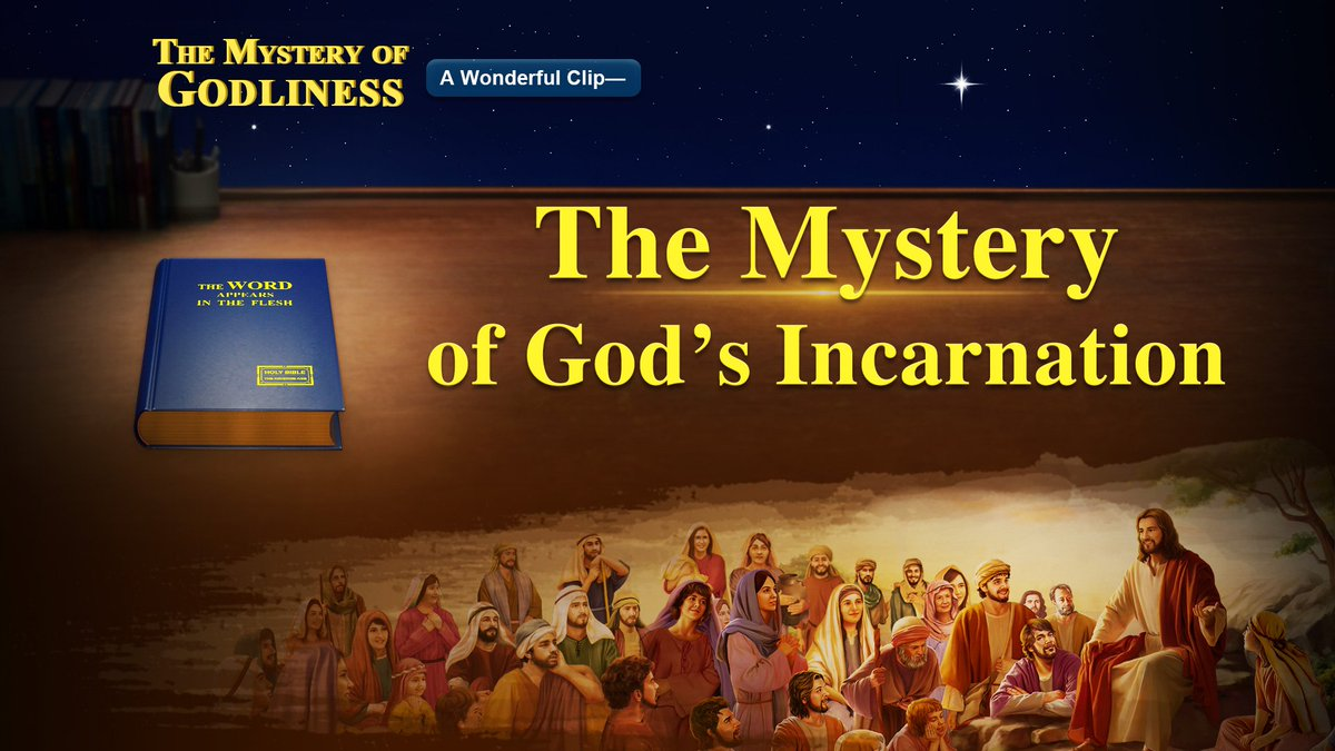 Know the Incarnation of God | &quot;The Mystery of Godliness: The Sequel&quot;  https://www. holyspiritspeaks.org/videos/mystery -of-godliness-the-sequel-trailer &nbsp; …  #Gospel #Movie #Film #Christian #Lord <br>http://pic.twitter.com/R2tL3psl5g