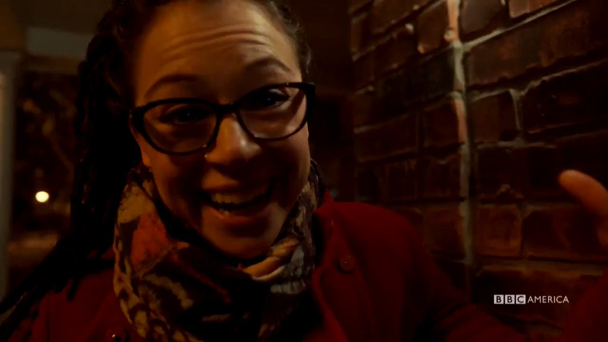 From tonight's #OrphanBlack- Alison meets Cosima and it's both nothing...