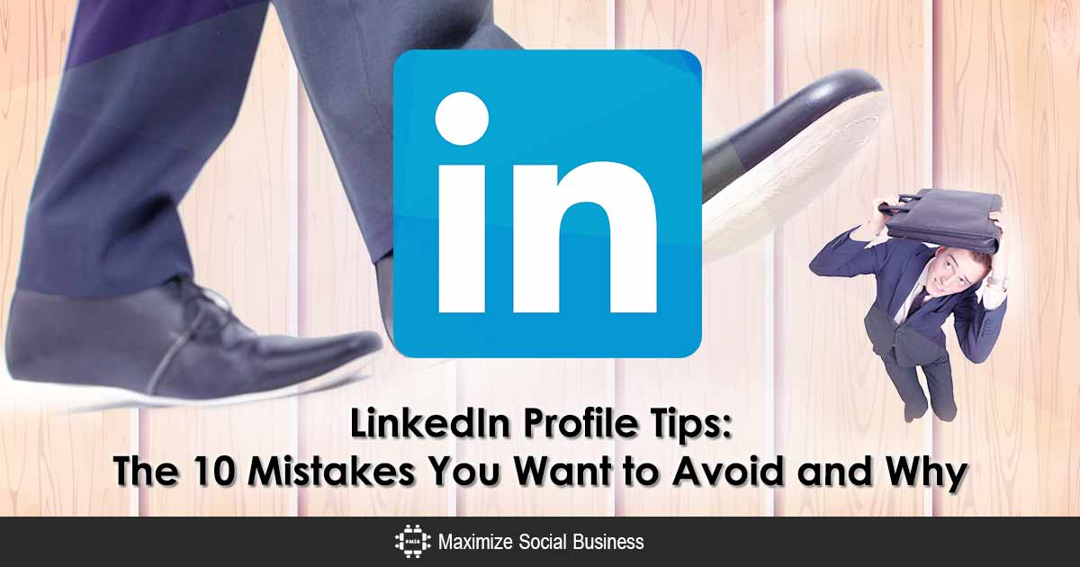 LinkedIn Profile Tips: The 10 Mistakes You Want to Avoid and Why  http:// maximizesocialbusiness.com/linkedin-profi le-tips-10-mistakes-to-avoid-798/ &nbsp; …  #linkedin <br>http://pic.twitter.com/Z83pk5G1KG