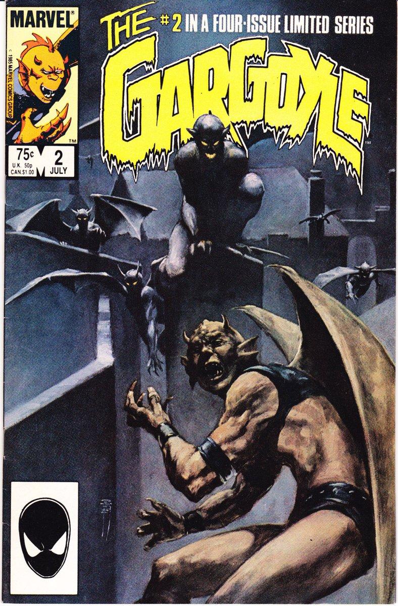 #Gargoyle comic lot 1 2 3 4 NM  http:// etsy.me/2t8byIz  &nbsp;   1985 #Horror #Scary #Statue #MiniSeries #BerniWrightson #JonMuth #Artist #Comics<br>http://pic.twitter.com/2lJplipHH9