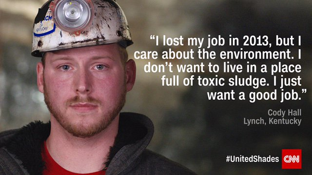 How do you care for the planet w/o destroying jobs & families?  vis@wkamaubellits coal country looking for answers on  tom#UnitedShadesorrow