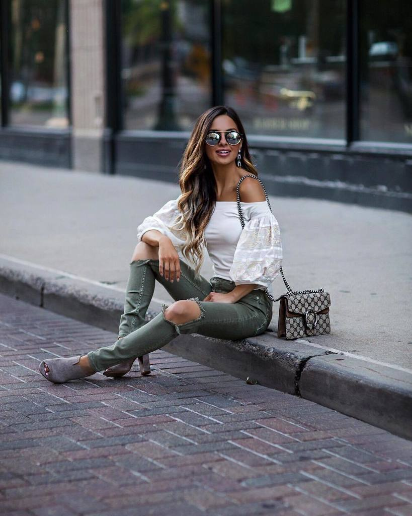 Casual weekend wear. // Outfit details linked in my bio. #wiw #ootn #weekendvibes #gucci #summerstyle  http:// ift.tt/2tHIp3Z  &nbsp;  <br>http://pic.twitter.com/Qc6cKrt9Cz