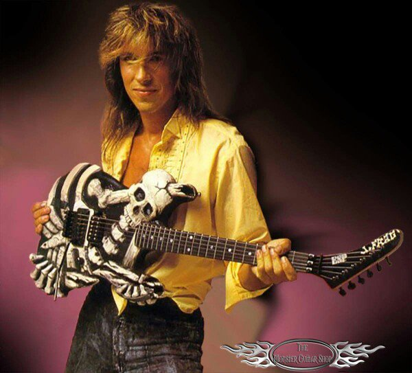 The one-and-only #MrScary with his iconic Mr. Bones ESP guitar  #georgelynch #dokken #guitar #guitarist #rock #metal #espguitars #1980s<br>http://pic.twitter.com/GNfBDVGybg