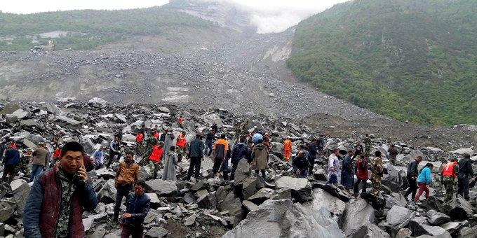 쓰촨에서 산사태로 15구의 시신이 발견되고 118명이 실종됐다 https://t.co/Y9C5tNoVlm