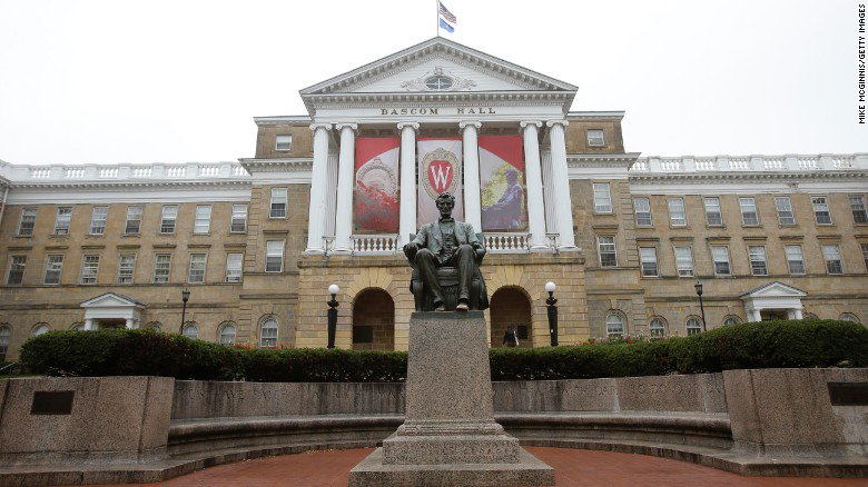 Under new legislation, students who disrupt speeches at U. of Wisconsin schools could be expelled for speaking out https://t.co/nhO7hGY7EU