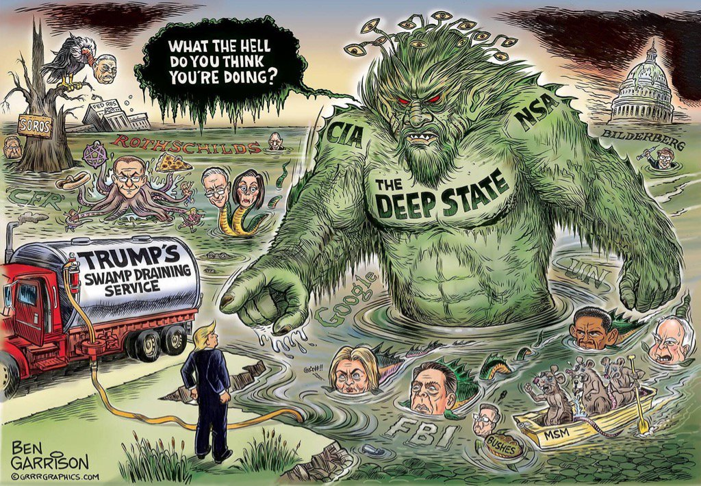. PRESIDENT TRUMP needs a BIGGER TRUCK  #DrainTheSwamp  #TheDeepState  #Support45 #POTUS #GOP<br>http://pic.twitter.com/d75vcwV1Ko