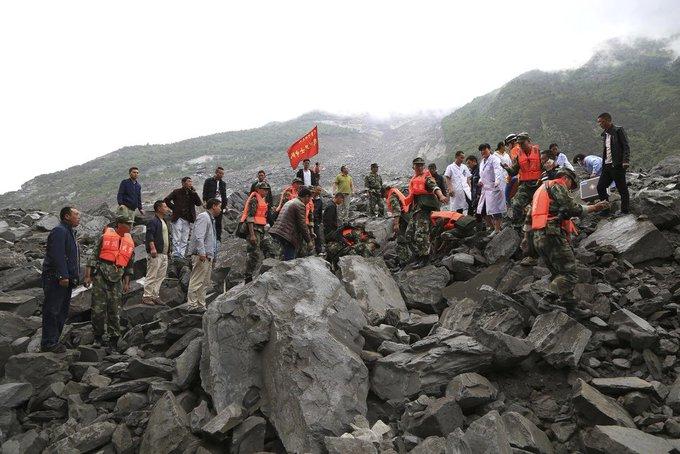 중 쓰촨성 산사태 15명 주검 발견…실종자 118명 달해 https://t.co/6Sq02KjPSb