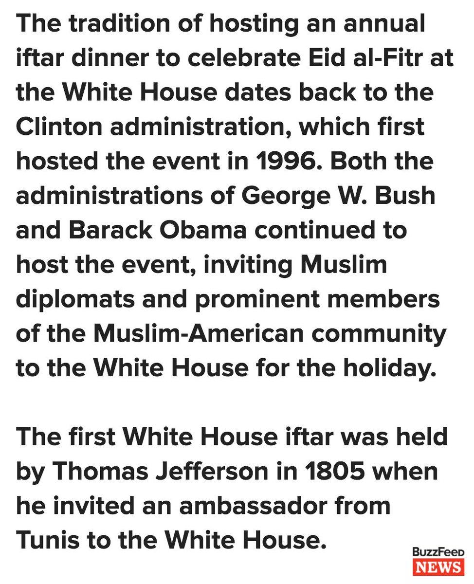 White House breaks tradition by not holding Eid al-Fitr celebration to mark end Of Ramadan https://t.co/NXDT3DG35P