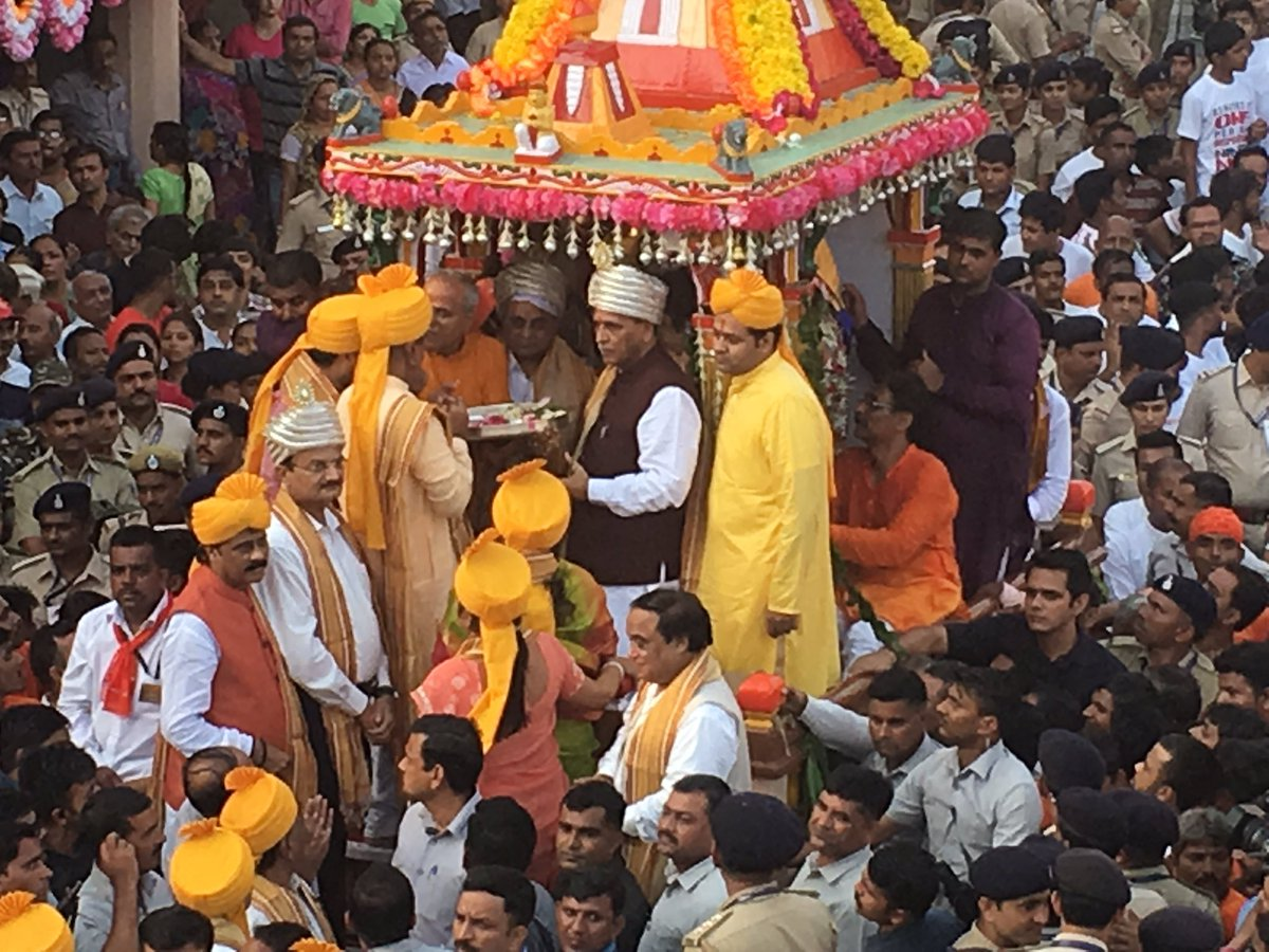 Rath Yatra 2017 Ahmedabad