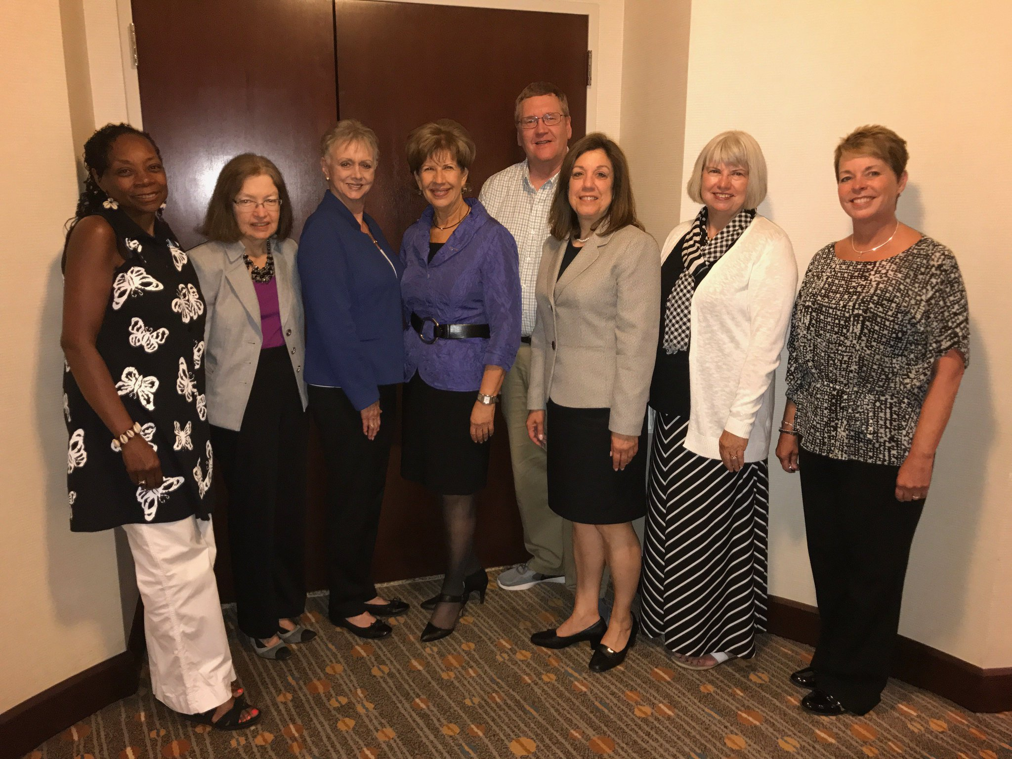 Members of the 2016-2017 @AAFCS Board of Directors are pleased to welcome #AAFCSac attendees. Hope U have a great time this week in Dallas! https://t.co/oUD3HPsEHb