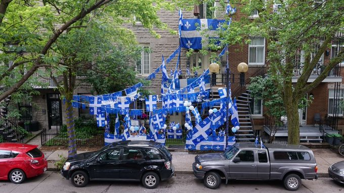 Fête nationale celebrations underway across Quebec https://t.co/v90Vw4qdZg