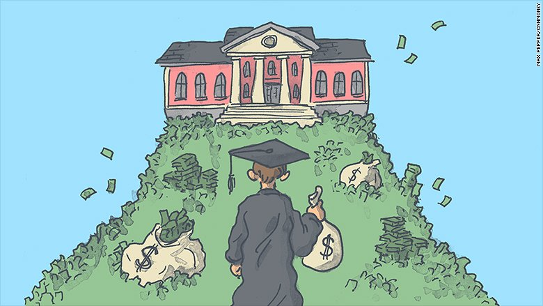 We hear a lot about how college is expensive, but even high earners may struggle to afford it https://t.co/oNQXbxH9Yk