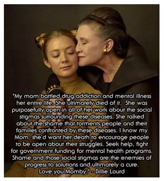 Carrie Fisher's daughter gracefully recalls her mother. https://t.co/U...