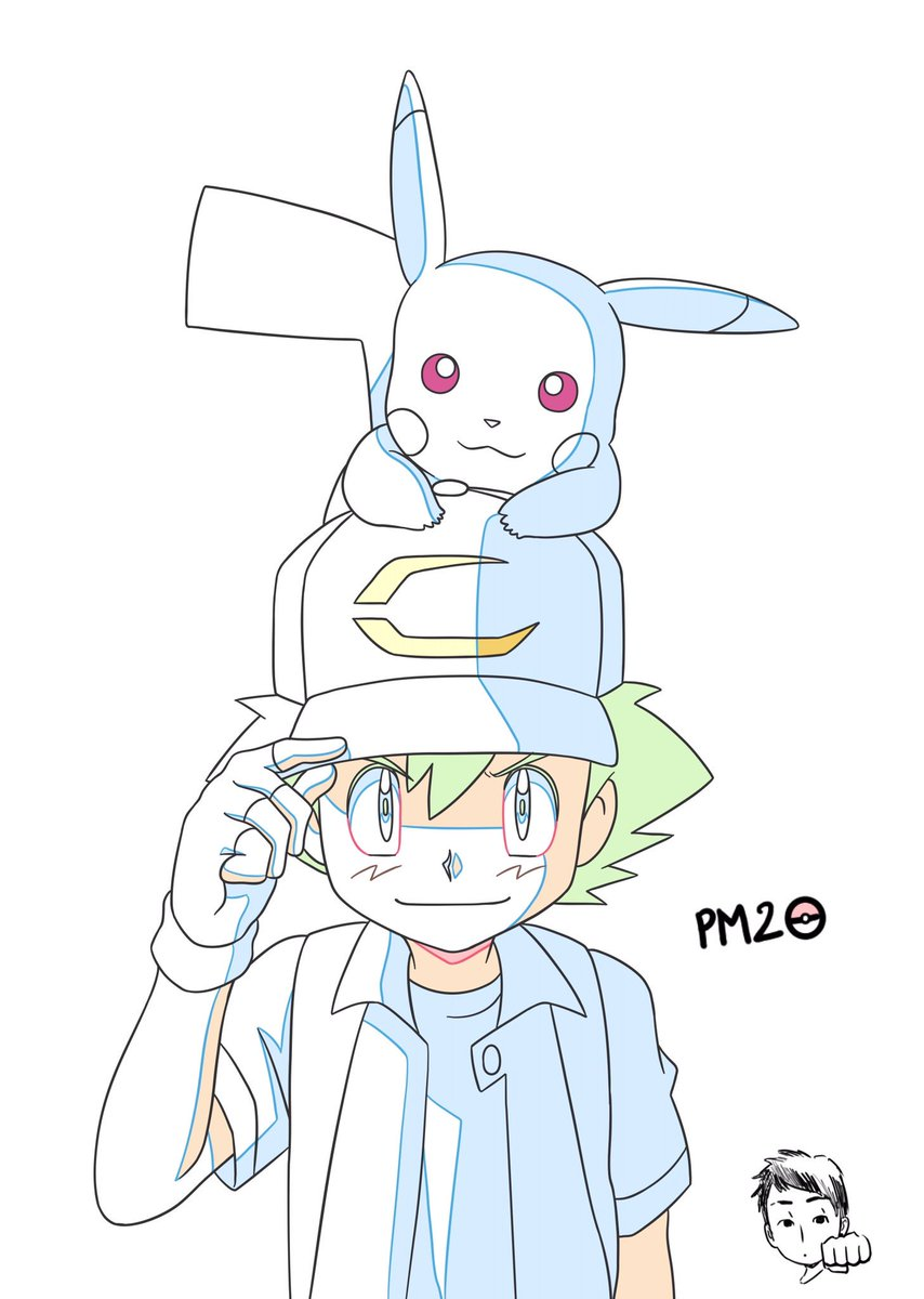 To make this movie was funny. I&#39;m tired... I hope you&#39;ll like it. A reason to celebrate this with a personal drawing~  #pokemon #movie #end<br>http://pic.twitter.com/LvHyxjvYig