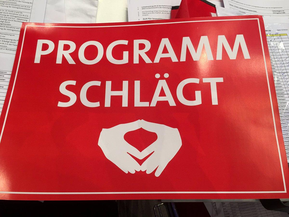 Klare Ansage auf dem #spdbpt in Dortmund #hoheEnergie @spdde https://t...