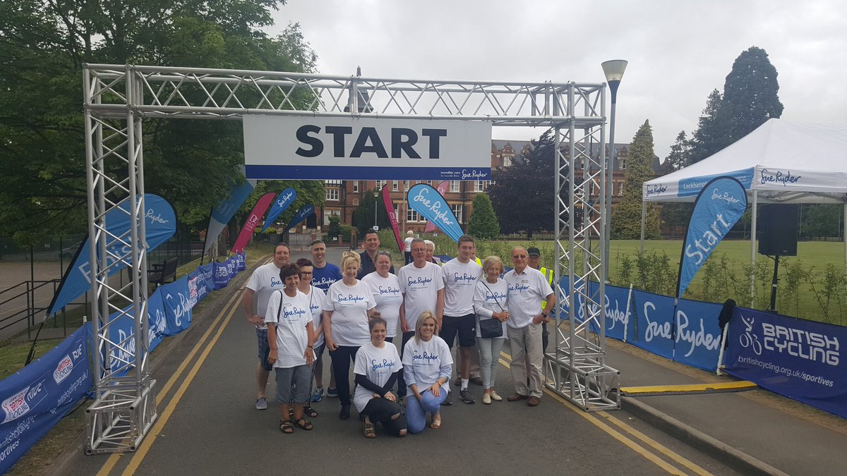 That&#39;s all the riders gone! Have a great ride everyone &amp; thanks to all of our #incredible #volunteers who made it all possible! <br>http://pic.twitter.com/pBGOoVVnCs