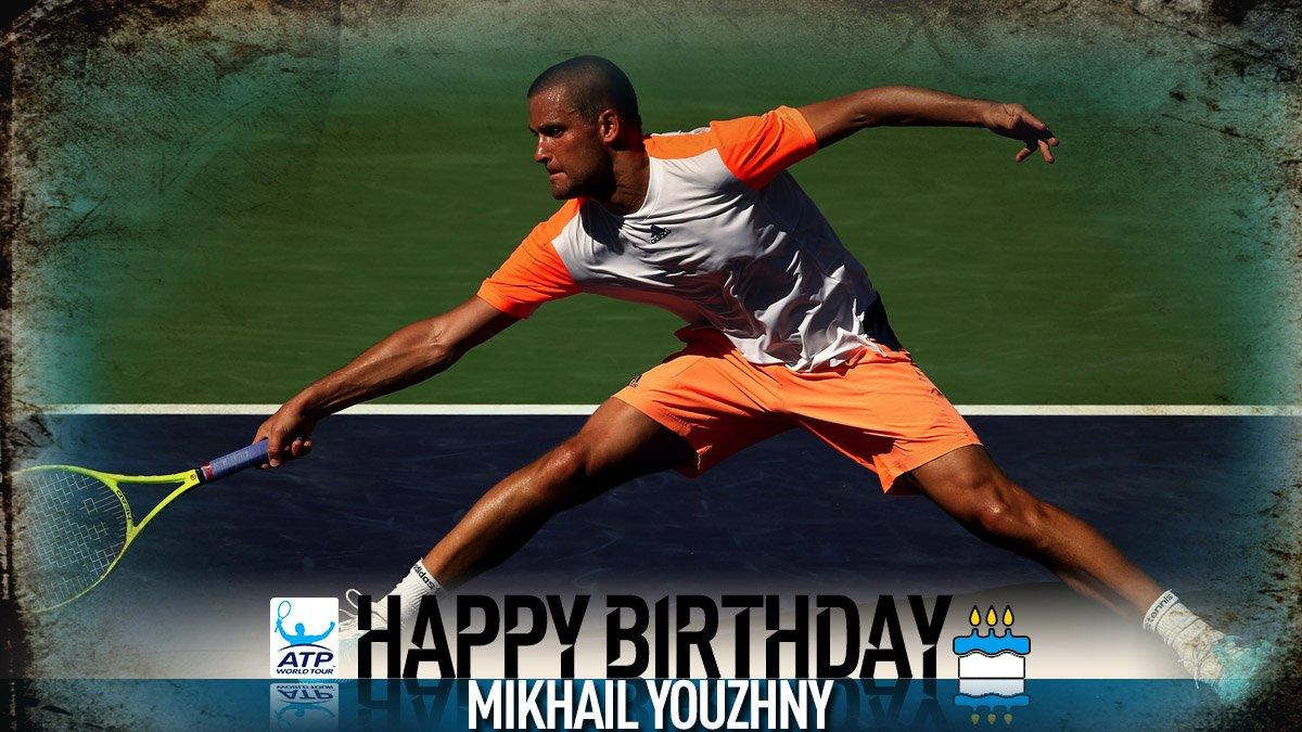 Happy 35th birthday ���� Mikhail Youzhny! �� View #ATP Profile: https://t.co/HGTfiGAq6P https://t.co/tCZNYet31N