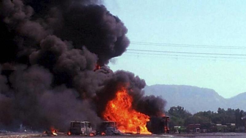 100 killed, 50 injured in oil tanker fire in Pakistan's Punjab province https://t.co/ly3TPXBJxU