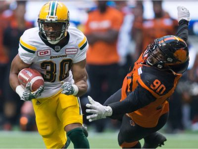 Edmonton Eskimos defeat B.C. Lions 30-27 on last second field goal htt...