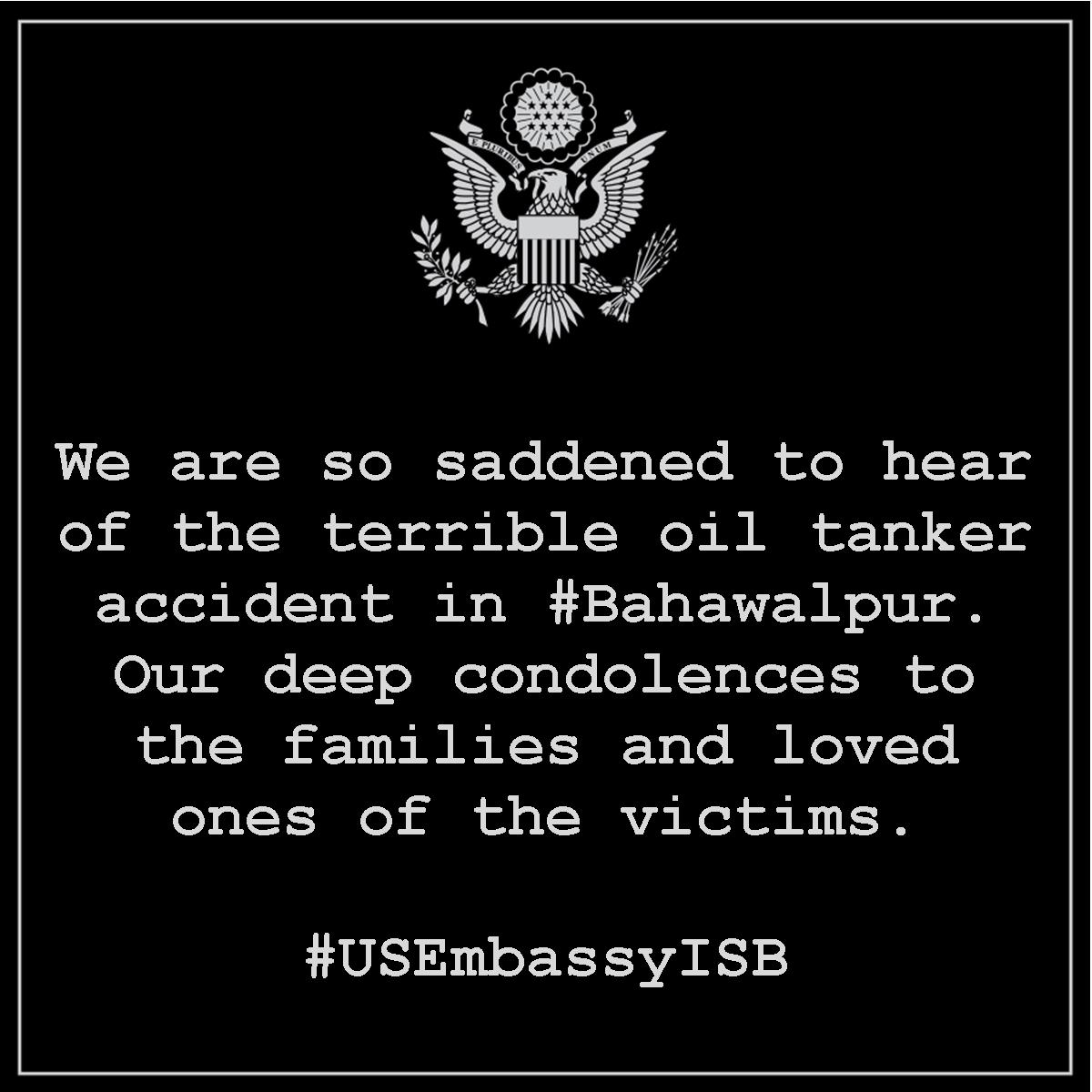 Our deep condolences to the families and loved ones of the victims. #B...