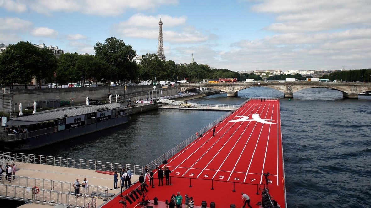 Paris showcases its sights in Olympic race against Los Angeles https://t.co/1YGyrzwk9M