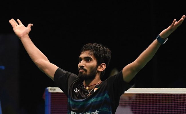 India's Kidambi Srikanth beats China's Chen Long 22-20, 21-16 in the final to clinch the #AustralianOpen Super Series title