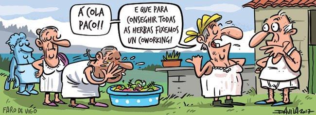 #FelizDomingo Coworking para el agua de San Juan  Más #humor con @OBic...