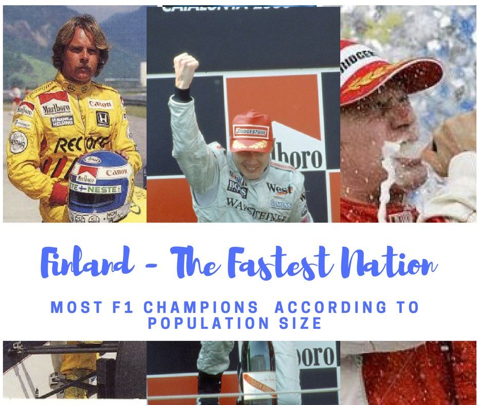 Race day @BakuCityCircuit! BTW: #Finland has won by far the most #F1 championships in relation to population size. #F1Baku @F1<br>http://pic.twitter.com/LM4FYSJIlq