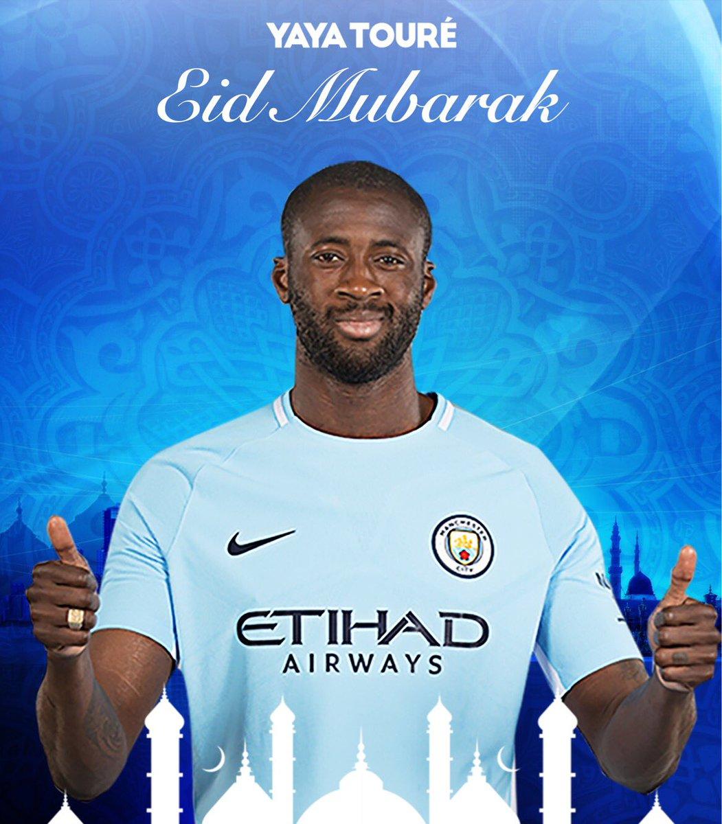 """Yaya Touré on Twitter """"Eid Mubarak everyone EidMubarak s"""
