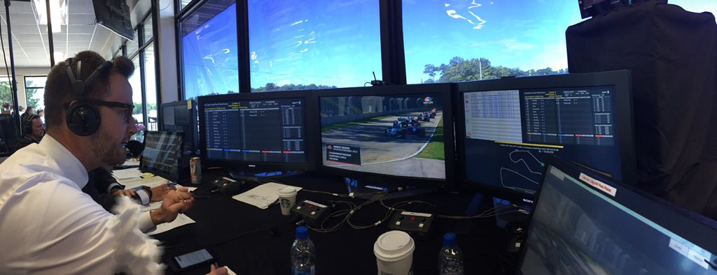 In the booth for @IndyLights Race 2 on @NBCSN with @AndersKrohn and @j...