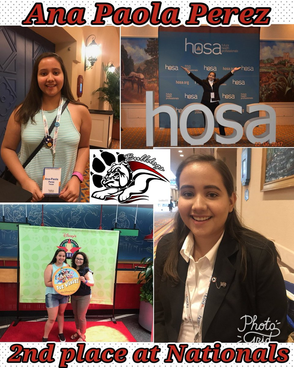 Ana CONGRATULATIONS on coming in 2nd place yesterday at Nationals. You make us proud at #SHSFLAGSHIP. .  #BULLDIGSTRONG #GANAS @SocorroISD<br>http://pic.twitter.com/3VHgM6frxh