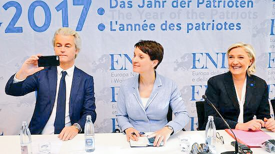 Two down, one to go! #Wilders #LePen <br>http://pic.twitter.com/vrWIiVoJwS