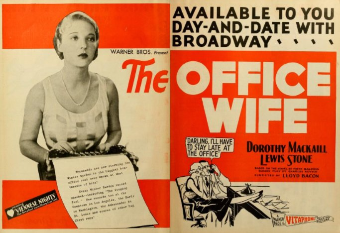 1930 #Precode offerings The Office Wife, Her Man The Girl of the Golden West, The Greater Love &amp; SIn Takes a Holiday, #Hollywood bad girls <br>http://pic.twitter.com/ryfDyd28T1