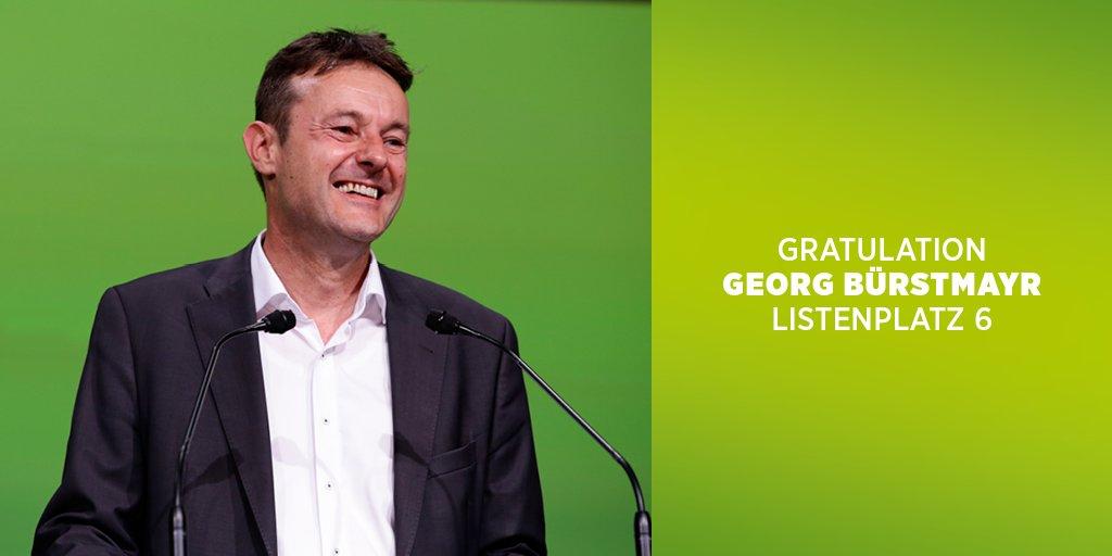 Auf Platz 6 beim a.o. 38. Bundesgkongress der Grünen wurde @buerstmayr...