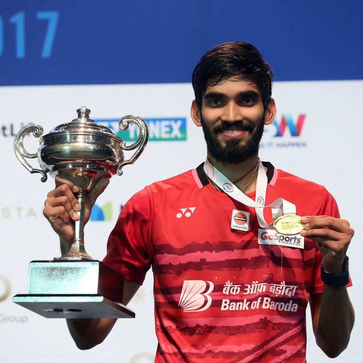 "Kidambi Srikanth on Twitter ""It s 2nd consecutive Superseries win"
