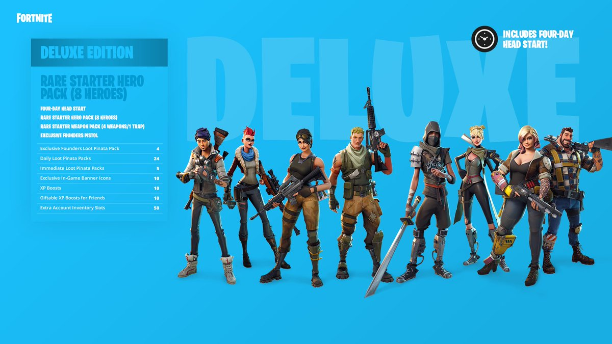 Fortnite On Twitter Grab A Deluxe Founder S Pack And Get