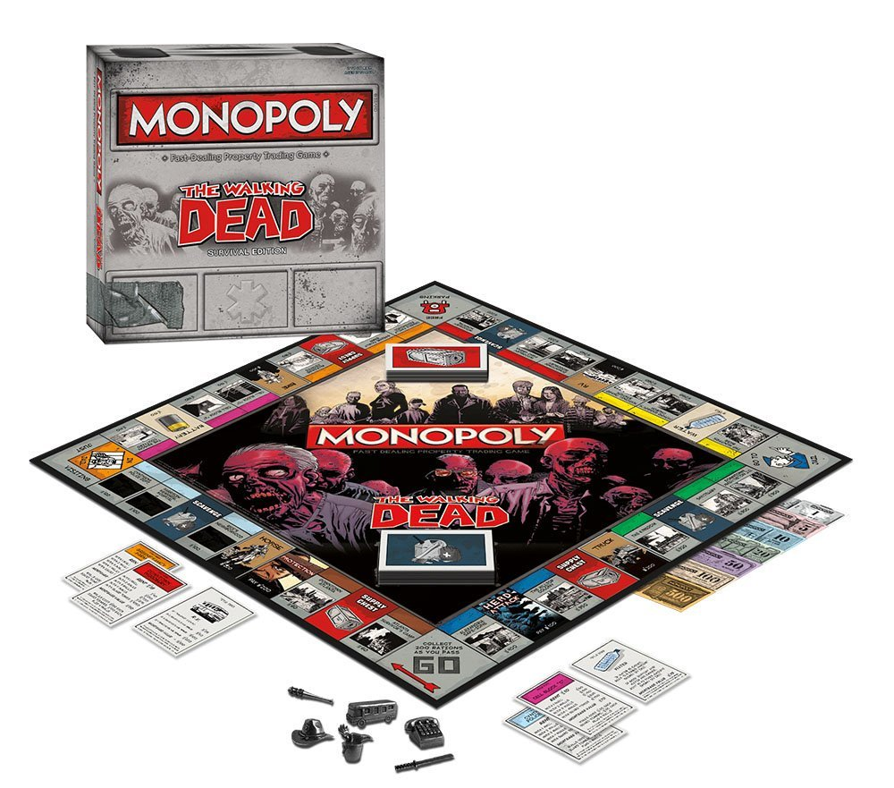Monopoly: The Walking Dead (Survival Edition) https://t.co/MMkF5UhbAn...