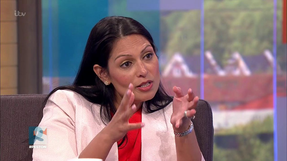 #Peston challenges @patel4witham on whether #GE2017 was a mistake for the @Conservatives