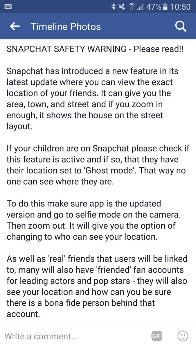 Does your child have #Snapchat? Make sure the location is set to &#39;ghost mode&#39; to stop others from finding their exact location @NWPolice<br>http://pic.twitter.com/OuCh0DXzhl