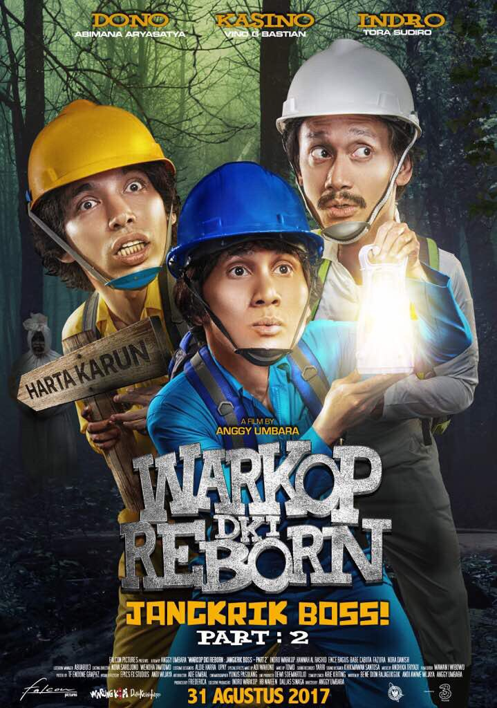 Image result for sampul film warkop dki reborn part 2