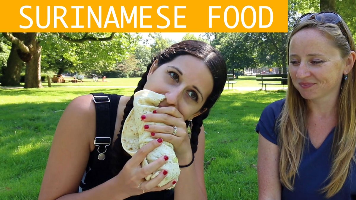 ***NEW VIDEO*** Eating #Surinamese food in #Amsterdam with Vicky Hampton from @amsterdamfoodie  Watch on Youtube:  https:// youtu.be/ZB9y5fE_O7U  &nbsp;  <br>http://pic.twitter.com/KXBlBhqlBw