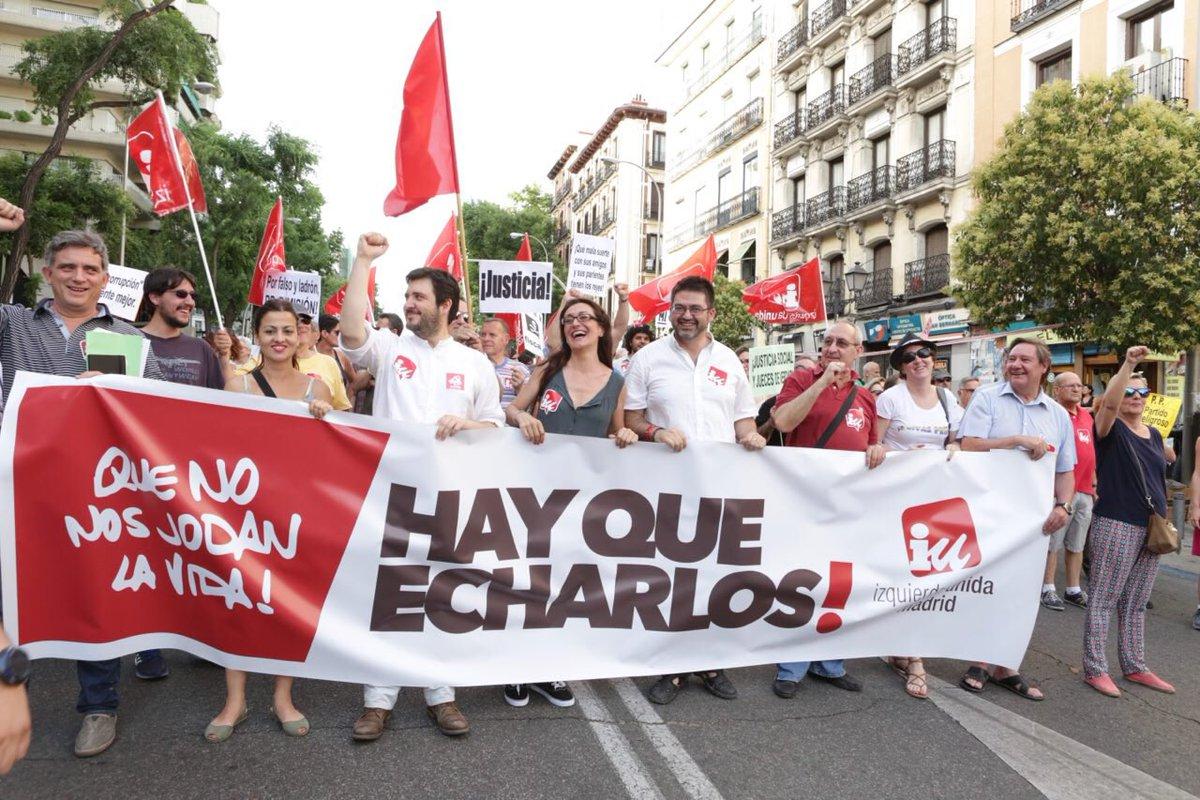 📸 Álbum de fotos de @josecamo_  de la manifestación #24JMadridSinCorru...