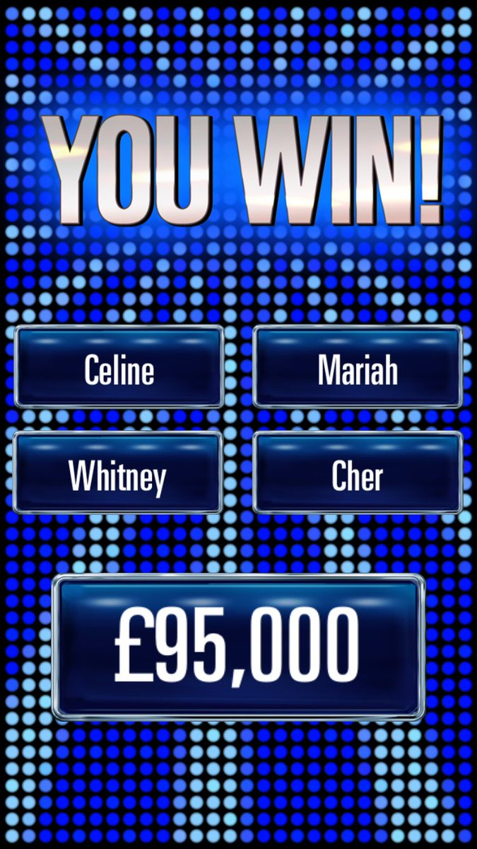 Officially addicted to #TheChase app - and also, my names of the conte...