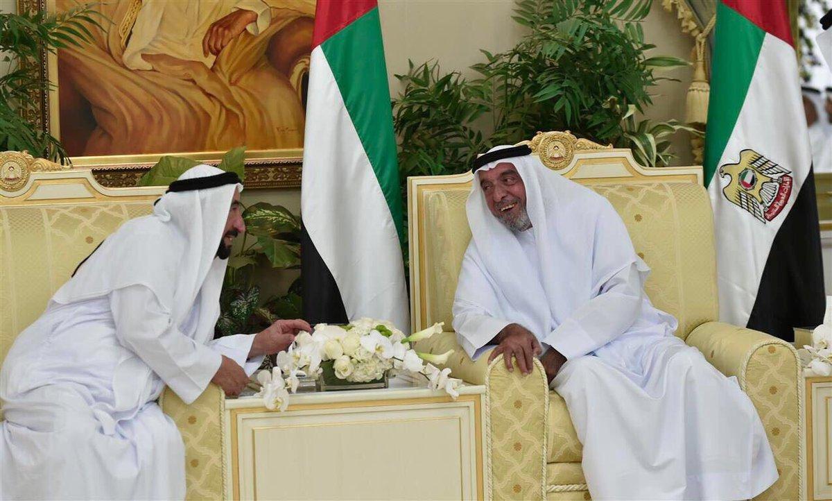 فرحة صادقة تغمر شعب #الامارات برؤية #رئيس_الدولة_يستقبل_الحكام #عيد_ال...